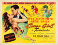 "Movie Posters:Musical, Cover Girl (Columbia, 1944). Half Sheet (22"" X 28"") Style B.. ..."