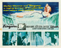 "Movie Posters:Film Noir, Niagara (20th Century Fox, 1953). Half Sheet (22"" X 28"").. ..."