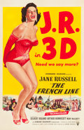 """Movie Posters:Comedy, The French Line (RKO, 1954). One Sheet (27"""" X 41"""") 3-D Style.. ..."""