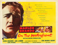 "Movie Posters:Academy Award Winners, On the Waterfront (Columbia, 1954). Half Sheet (22"" X 28"") Style B.. ..."