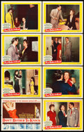 "Movie Posters:Thriller, Don't Bother to Knock (20th Century Fox, 1952). Lobby Card Set of 8(11"" X 14"").. ..."