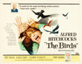 "Movie Posters:Hitchcock, The Birds (Universal, 1963). Half Sheet (22"" X 28"").. ..."