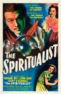 "Movie Posters:Fantasy, The Spiritualist (Eagle Lion, 1948). One Sheet (27"" X 41"") Also Known As: The Amazing Mr. X.. ..."