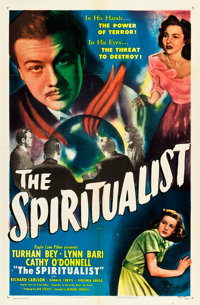 """The Spiritualist (Eagle Lion, 1948). One Sheet (27"""" X 41"""") Also Known As: The Amazing Mr. X"""
