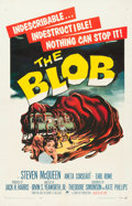 """Movie Posters:Science Fiction, The Blob (Paramount, 1958). One Sheet (27"""" X 41"""").. ..."""
