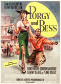 "Movie Posters:Musical, Porgy and Bess (Columbia, 1959). German One Sheet (24"" X 33.5"")Bruno Rehak Art.. ..."