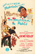 "Movie Posters:Musical, An American in Paris (MGM, 1951). One Sheet (27"" X 41"").. ..."