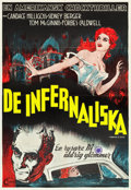 "Movie Posters:Horror, Carnival of Souls (Corona, 1962). Swedish One Sheet (27.5"" X 39.5"").. ..."