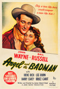 "Movie Posters:Western, Angel and the Badman (British Empire Films, 1947). Australian One Sheet (27"" X 40"").. ..."