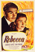 """Movie Posters:Hitchcock, Rebecca (Selznick, R-1944). One Sheet (27"""" X 41"""").. ..."""
