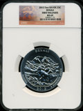 Modern Bullion Coins, 2012 25C Denali Five-Ounce Silver, First Strike MS69 NGC. ...