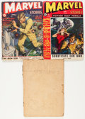 Pulps:Horror, Marvel Stories Group (Red Circle, 1940-41).... (Total: 3 Items)