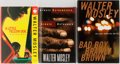 Books:Mystery & Detective Fiction, Walter Mosley. Group of Three First Edition, First Printing Books,Two Signed. Various publishers. Always Outnumbered is...(Total: 3 Items)