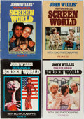 Books:Reference & Bibliography, Screen World. John Willis [editor]. Group of Four Volumes.Crown, 1980, 1981, 1983, 1984. Publisher's binding and dj...(Total: 4 Items)