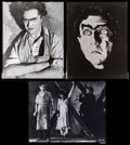 """Movie Posters:Horror, Bela Lugosi in Murders in the Rue Morgue (Universal). Safety Film Duplicate Negatives (3) (8"""" X 10""""). Horror.. ... (Total: 3 Items)"""