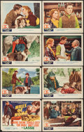 "Movie Posters:Adventure, Hills of Home (MGM, 1948). Lobby Card Set of 8 (11"" X 14"").Adventure.. ... (Total: 8 Items)"