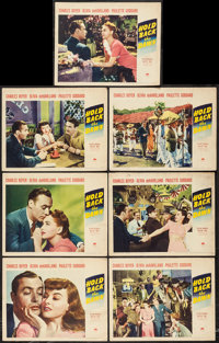 """Hold Back the Dawn (Paramount, 1941). Lobby Cards (7) (11"""" X 14""""). Romance. ... (Total: 7 Items)"""