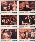 """Movie Posters:Drama, Whistle Stop (Classic Pictures, R-1952). Lobby Cards (6) (11"""" X 14""""). Drama.. ... (Total: 6 Items)"""