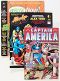 Modern Age (1980-Present):Miscellaneous, Comic Books - Assorted Modern Age Comics and Comics-Related magazines Box Lot (Various Publishers, 1990s) Condition: Average N...