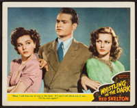"""Whistling in the Dark (MGM, 1941). Lobby Card (11"""" X 14""""). Comedy"""