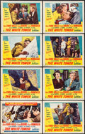 "Movie Posters:Adventure, The White Tower (RKO, 1950). Lobby Card Set of 8 (11"" X 14"").Adventure.. ... (Total: 8 Items)"