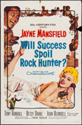 """Movie Posters:Comedy, Will Success Spoil Rock Hunter? (20th Century Fox, 1957). One Sheet (27"""" X 41""""), and Lobby Card Set of 8 (11"""" X 14""""). Comedy... (Total: 9 Items)"""
