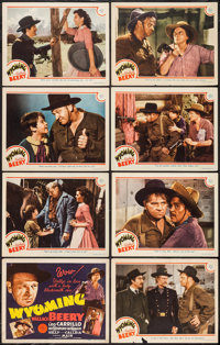 """Wyoming (MGM, 1940). Lobby Card Set of 8 (11"""" X 14""""). Western. ... (Total: 8 Items)"""