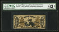 Fractional Currency:Third Issue, Fr. 1355 50¢ Third Issue Justice PMG Choice Uncirculated 63 Net.. ...