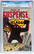 Silver Age (1956-1969):Science Fiction, Tales of Suspense #21 (Marvel, 1961) CGC VF 8.0 Off-white pages....