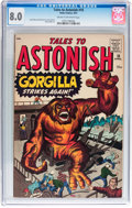 Silver Age (1956-1969):Mystery, Tales to Astonish #18 (Marvel, 1961) CGC VF 8.0 Cream to off-whitepages....