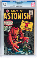 Silver Age (1956-1969):Science Fiction, Tales to Astonish #20 (Marvel, 1961) CGC FN/VF 7.0 Off-whitepages....