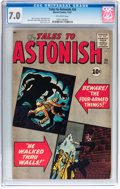 Silver Age (1956-1969):Mystery, Tales to Astonish #26 (Marvel, 1961) CGC FN/VF 7.0 Off-whitepages....