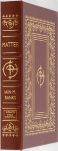 Books:Science Fiction & Fantasy, Iain M. Banks. LIMITED/SIGNED. Matter. Easton Press, 2008. First edition limited to 900 hand-numbered copies sig...