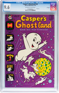 Bronze Age (1970-1979):Cartoon Character, Casper's Ghostland #56 File Copy (Harvey, 1970) CGC NM+ 9.6Off-white to white pages....
