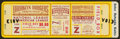 Baseball Collectibles:Tickets, 1941 World Series Full Proof Ticket....