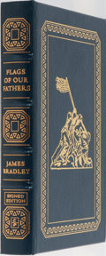 Books:Americana & American History, James Bradley. SIGNED. Flags of Our Fathers. Easton Press,2007. First edition thus. Signed by the author. Leat...