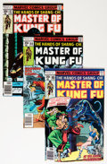 Bronze Age (1970-1979):Superhero, Master of Kung Fu Group (Marvel, 1975-83) Condition: Average NM-.... (Total: 69 Comic Books)