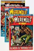 Bronze Age (1970-1979):Horror, Werewolf by Night #1-7 Group - Savannah pedigree (Marvel, 1972-73)Condition: Average NM-.... (Total: 7 Comic Books)