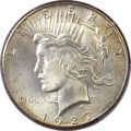 Peace Dollars, 1927 $1 MS66 PCGS....