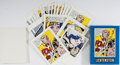 Books:Art & Architecture, Roy Lichtenstein. Box of 20 Note Cards Illustrated by Roy Lichtenstein and Signed by the Artist on the Box Top. Published by...