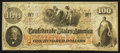 Confederate Notes:1862 Issues, T41 $100 1862 PF-10 Cr. 315A.. ...