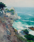 Western, GUY ROSE (American, 1867-1925). Out to Sea, Point Lobos. Oilon canvas. 29-1/2 x 24 inches (74.9 x 61.0 cm). Titled, ins...