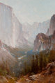 THOMAS HILL (American, 1829-1908) Yosemite, 1889 Oil on canvas 24 x 16 inches (61.0 x 40.6 cm) Signed and dated lowe