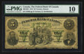 Canadian Currency: , Toronto, ON- The Federal Bank of Canada $5 July 1, 1874 Ch. #300-10-04. ...