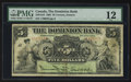 Canadian Currency: , Toronto, ON- The Dominion Bank $5 July 3, 1905 Ch. # 220-16-10. ...