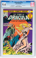 Bronze Age (1970-1979):Horror, Tomb of Dracula #43 (Marvel, 1976) CGC NM 9.4 Off-white to whitepages....