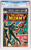 Bronze Age (1970-1979):Horror, Supernatural Thrillers #12 The Living Mummy (Marvel, 1975) CGC NM+9.6 Cream to off-white pages....