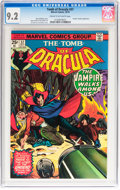 Bronze Age (1970-1979):Horror, Tomb of Dracula #37 (Marvel, 1975) CGC NM- 9.2 Cream to off-whitepages....
