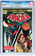 Bronze Age (1970-1979):Horror, Tomb of Dracula #26 (Marvel, 1974) CGC VF/NM 9.0 Cream to off-whitepages....