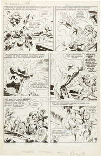 Joe Simon and Jack Kirby The Double Life of Private Strong #1 Page 4 Original Art (Archie, 1959)
